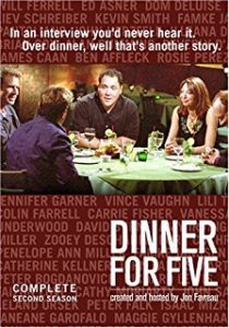 affiche dinner for five